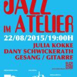 22.08.2015 Jazz im Atelier Kopflos Hannover