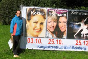Julia Kokke Werbebanner