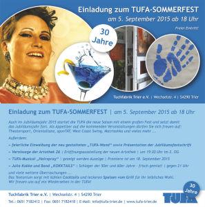 TUFA Sommerfest 2015