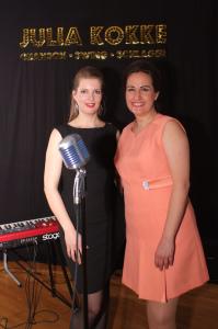 Mathilde van de Veen und Julia Kokke KOKKTAILS-Auftritt Buxtehude