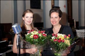 Mathilde van de Veen und Julia Kokke Konzert in Messancy (Belgien)