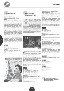Konzert Julia Kokke VHS Detmold