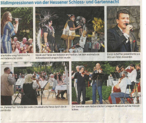 Hessener Schlos und Gartennacht 2017