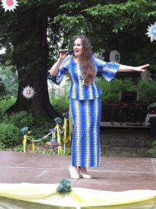 Hessener Schloss- und Gartennacht 2017 Julia Kokke Italienische und französische Chansons (3)
