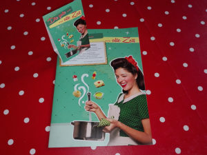 50er Jahre Tischdeko