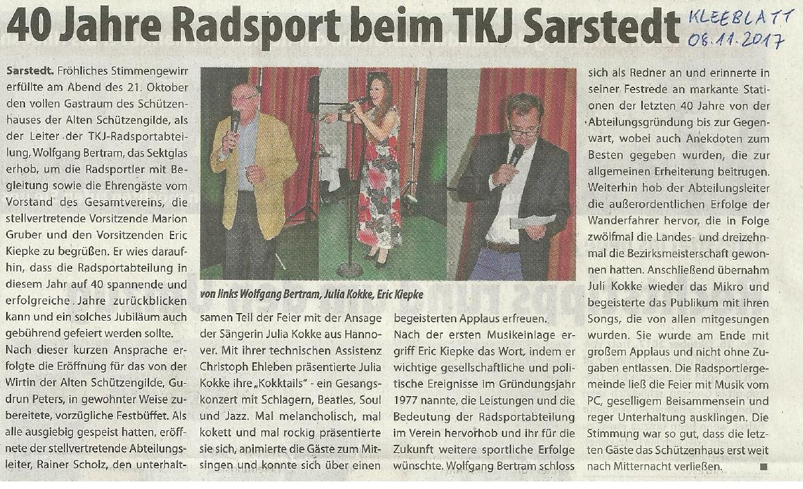 TKJ Sarstedt Julia Kokke